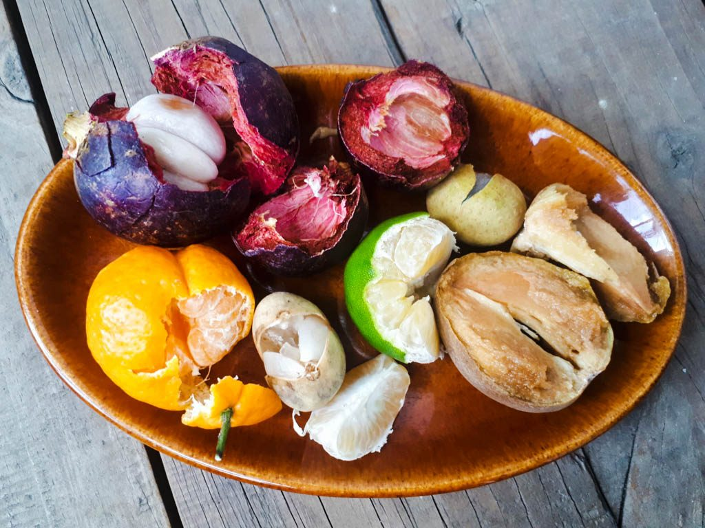 fruits in the Philippines - bowl of Filipino fruit