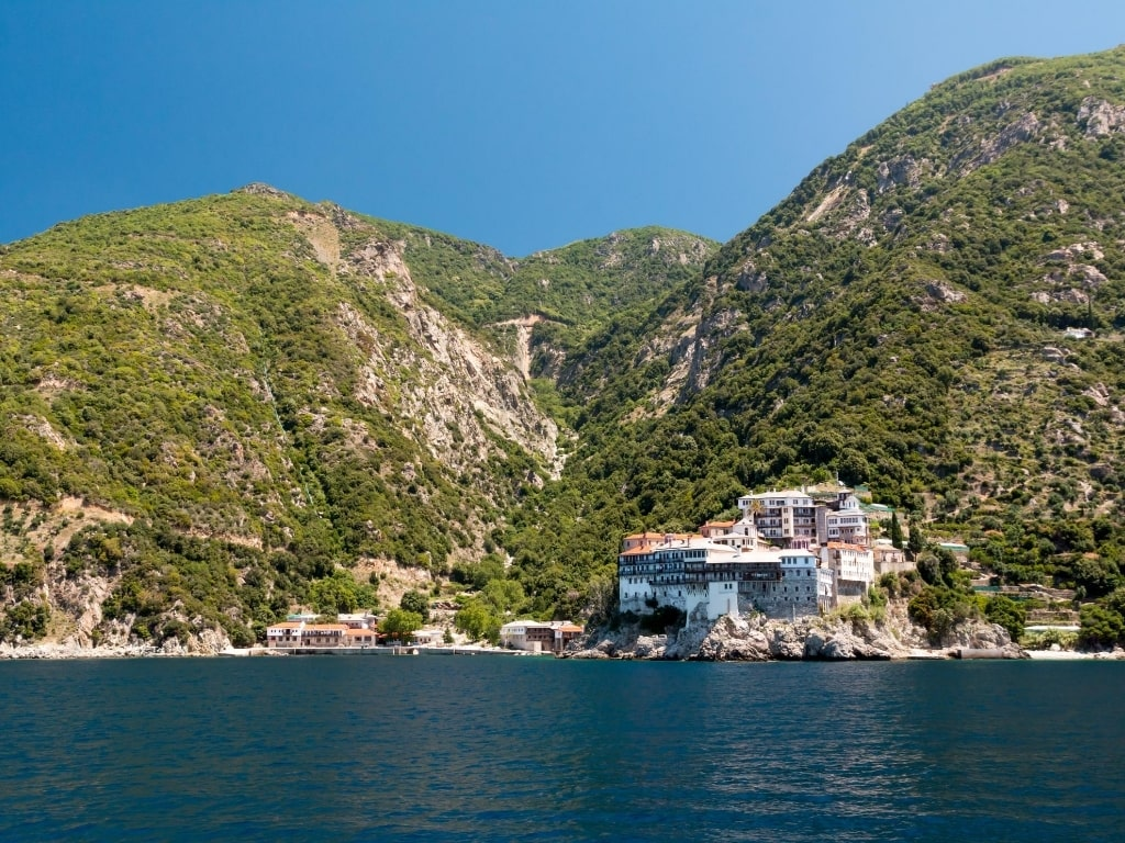 Unique Places To Visit In Greece - Mount Athos Monastery Halkidiki Northern Greece