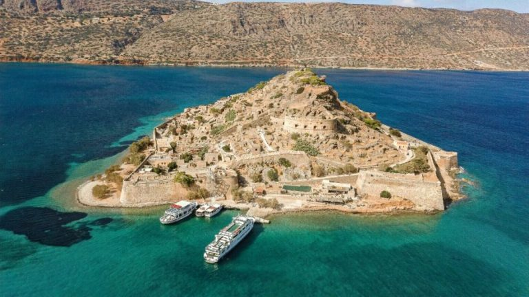 Spinalonga Island Crete Greece