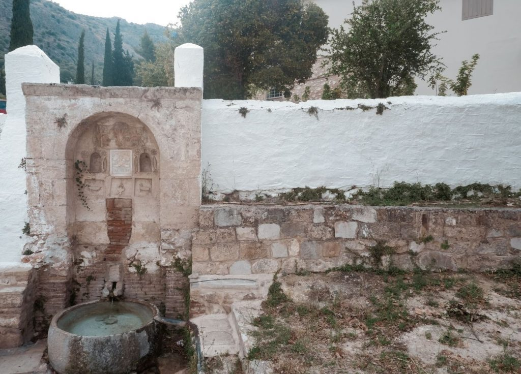 Agia Moni Pigi Tolo Greece