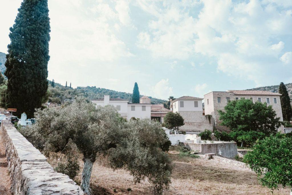 Agia Moni Tolo Greece