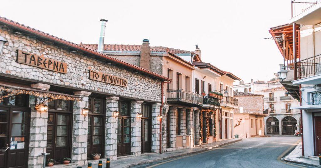 Arachova Town - Village