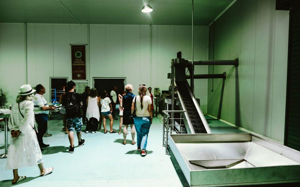 Melas Olive Oil Domain Factory Argolida