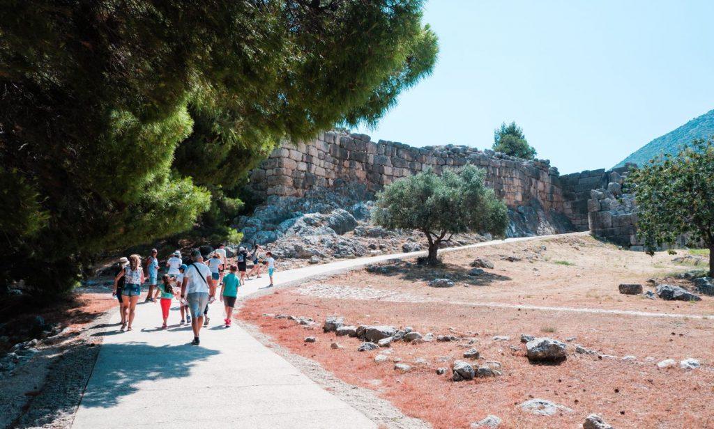 Mycenae Greece Archaeological Site