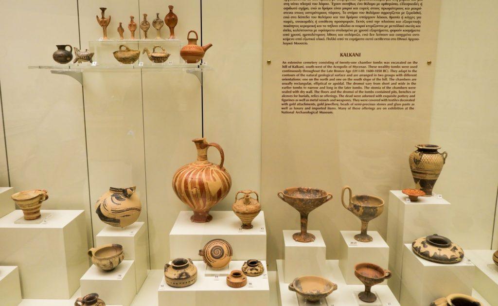 Mycenae Museum Greece