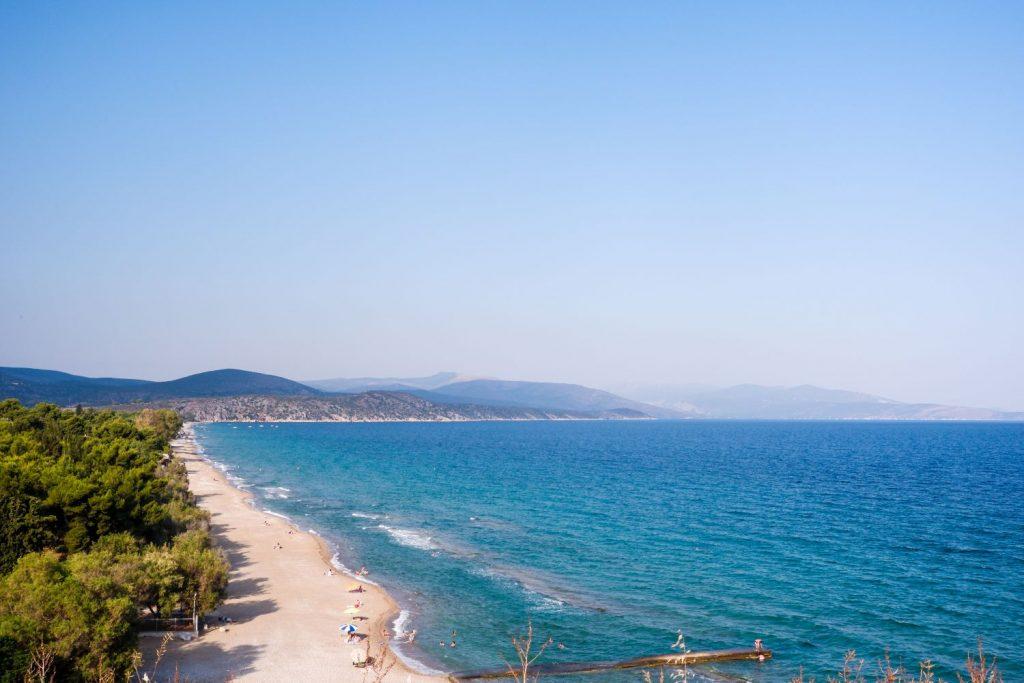 Paralia Plakas - Assini Beach Tolo Greece