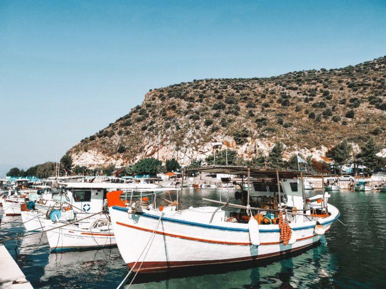 Tolo Port Greece