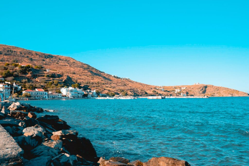 Ormos Korthi Andros Greece